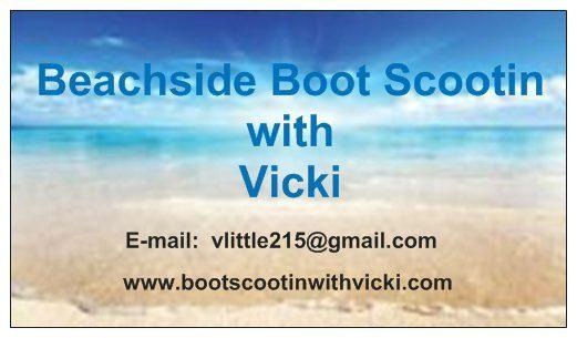 Boot Scootin with Vicki Logo